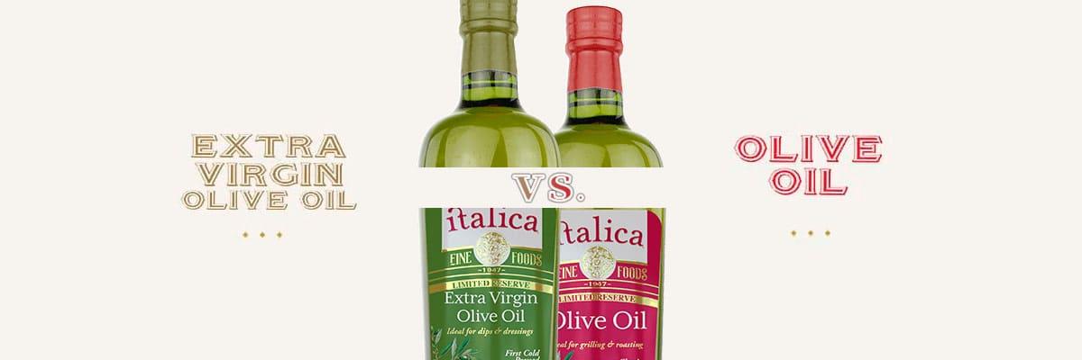 olive oil versus extra virgin