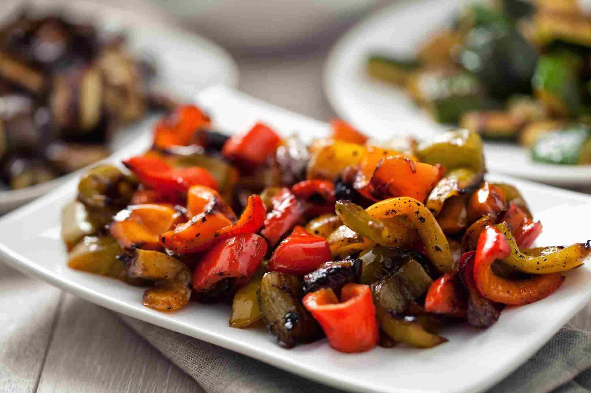 oven roasted peppers in olive oil recipe